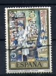Stamps Spain -  decoradores de caretas- solana