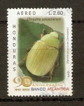 Stamps Honduras -  INSECTOS