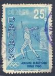 Stamps America - Panama -  Juegos Olimpicos Roma 1960