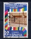 Stamps Spain -  Conferencia sobre la seguridad y la cooperación en Europa