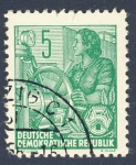 Stamps Germany -  DDR Oficios