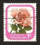 Stamps : Oceania : New_Zealand :  flor, michele meiland