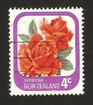 Stamps : Oceania : New_Zealand :  flor, super star