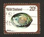 Stamps : Oceania : New_Zealand :  concha, haliotis iris