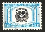 Stamps America - Dominican Republic -  prima valores declarados