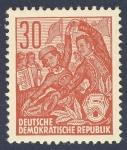 Sellos de Europa - Alemania -  DDR bailando