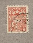 Stamps Europe - Latvia -  Escudo