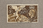 Stamps United Kingdom -  Juegos olímpicos 1948