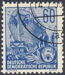 Sellos de Europa - Alemania -  DDR botadura de barco