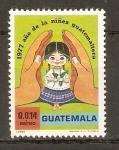 Stamps Guatemala -  NIÑEZ  GUATEMALTECA