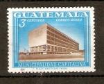 Sellos de America - Guatemala -  EDIFICIO  MUNICIPAL