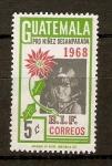 Sellos de America - Guatemala -  NIÑEZ  DESAMPARADA
