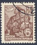 Sellos de Europa - Alemania -  DDR Paz y familia