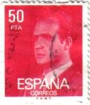 Stamps : Europe : Spain :  S. M. Juan Carlos I 1981