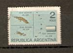 Stamps Argentina -  ISLAS