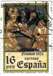 Stamps : Europe : Spain :  Navidad 1983. La Natividad. Tortosa.
