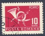 Stamps Romania -  telecomunicaciones