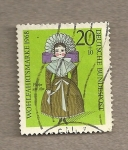 Stamps Germany -  Beneficiencia, muñeca