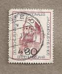 Stamps Germany -  Comenius, teólogo y educador