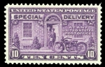 Sellos de America - Estados Unidos -  Special Delivery Scott #E15 - 1927