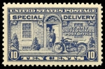 Stamps America - United States -  Special Delivery Scott #E12 - 1922