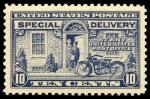 Sellos del Mundo : America : Estados_Unidos : Special Delivery Scott #E12 - 1922
