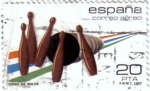 Stamps : Europe : Spain :  Deportes. Bolos