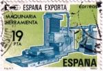 Sellos del Mundo : Europa : España : España exporta, máquinas-herramienta