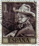 Stamps : Europe : Spain :  Autorretrato de Joaquín Sorolla