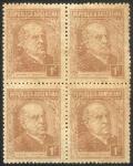 Stamps Argentina -  Sarmiento