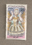 Stamps Germany -  Caroline Huber