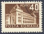 Stamps Romania -  edificio