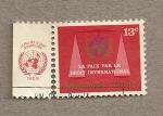 Sellos de Asia - Omán -  La paz através del derecho internacional