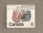Sellos de America - Canadá -  100 Aniv. de los territorios del Noroeste