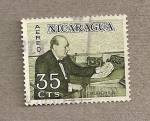 Sellos de America - Nicaragua -  Churchill