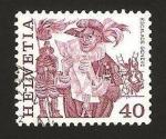 Stamps Switzerland -  escalade a geneve