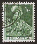 Stamps Switzerland -  ludwig pfyffer