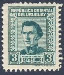 Stamps Uruguay -  personaje