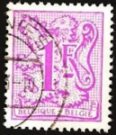 Sellos de Europa - Bélgica -  1945 - León heráldico