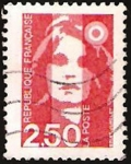 Stamps France -  marianne, II centº