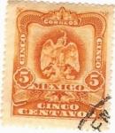 Sellos de America - México -  Aguilita