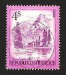 Sellos de Europa - Austria -  lago de alm haute