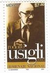 Stamps Mexico -  Rodolfo Usigli