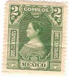 Sellos de America - México -  Leona Vicario