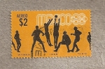 Stamps Mexico -  Baloncesto