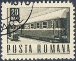 Stamps Romania -  tren