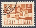 Sellos de Europa - Rumania -  carretilla