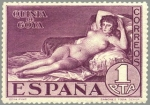 Stamps Europe - Spain -  ESPAÑA 1930 513 Sello Nuevo Quinta de Goya en Expo de Sevilla La Maja Desnuda 10c