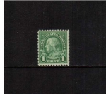 Stamps United States -  Franklin, Scott #552