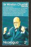 Stamps : America : Nicaragua :  948 - Centº del nacimiento de Sir Winston Churchill